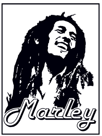 Bob Marley Dessin Moto Facile